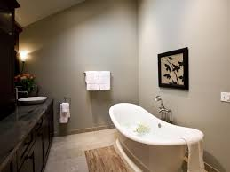 peaceful zen bathroom with freestanding soaking tub the unique