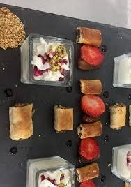 cuisine fait maison le cèdre restaurant libanais a dessert libanais fait maison