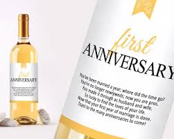 anniversary wine bottles wine bottle labels for wedding gift wedding