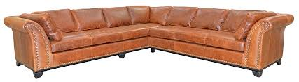 Omnia Leather Sofa Family Owned American Made Leather Furniture Manufacturers