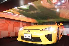 lexus lfa convertible lexus lfa roadster at the media ambition tokyo 2015