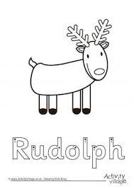 reindeer printables