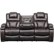 Powered Reclining Sofa Warnerton Power Reclining Sofa With Drop Table 7540715