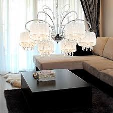 dining room designs with simple and elegant chandilers oofay light simple and elegant 6 head crystal chandelier