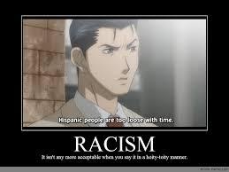 Racism Meme - racism anime meme com