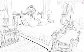 easy bedroom drawing interior design sketches in innovative