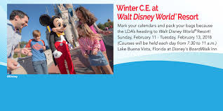 winter c e walt disney world louisiana dental association