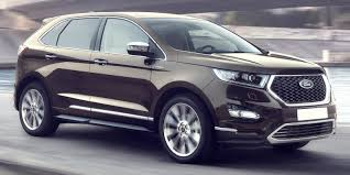 ford crossover 2016 ford edge vignale review carwow