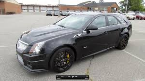 2013 cadillac cts review 2012 cadillac cts v sport wagon start up exhaust and in depth