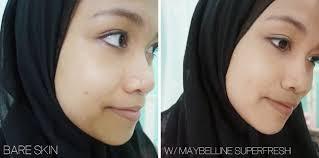 Bedak Skin Malaysia maybelline white superfresh powder review sabrina tajudin
