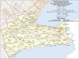 Cayuga County Map Map Of Services De Santé Pour Hamilton Niagara Haldimand Brant