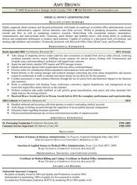 Sample Medical Office Manager Resume by Office Manager Resume Sample Objective 10 Dental Intended For