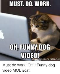 Video Meme Generator - must do work oh funny dog video memegenerator net must do work oh