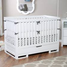 Hudson 3 In 1 Convertible Crib With Toddler Rail by Bedroom Inspiring Baby Bed Design Ideas With Babyletto Modo Crib