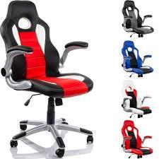 fauteuil de bureau racing fauteuil de bureau racing noir blanc achat vente