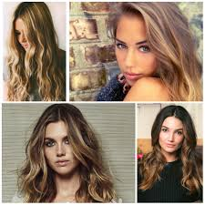 Colours For Highlighting Hair Trendy Sombre Hair Colors For 2017 Hair Pinterest Sombre