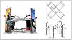 hollywood photo booth layout 20 x 20 hollywood turnkey rental display