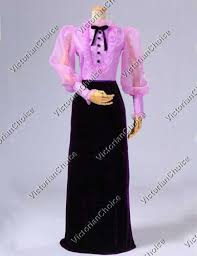 victorian costumes dresses saloon girls southern belle witch