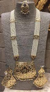gold rani haar sets uk indian punjabi pearl gold rani haar necklace set