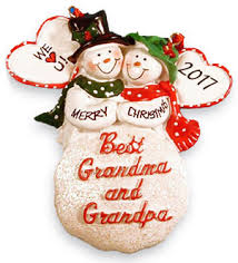 grandparent ornaments free personalization