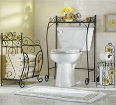 Wrought Iron Bathroom Furniture Wrought Iron Bathroom Furniture Fantastic Orange Wrought Iron