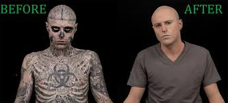 tattoo camo before and after would you believe this is the world s most tattooed man career