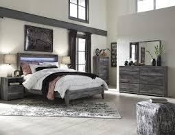 baystorm gray panel bedroom set from ashley coleman furniture