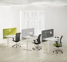 workstation desk powder coated steel melamine contemporary