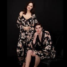 robe de chambre homme luxe magnifique peignoir homme hommes de soie robe satin hommes