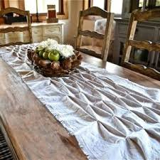 dining room table runner liven up your dining room with 4 diy table runners allyou com