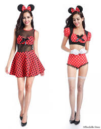 Minnie Mouse Halloween Costumes Adults Cheap Mouse Halloween Costumes Aliexpress