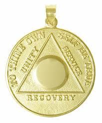 medallion pendant necklace images Medallion pendant necklace gold aa medallion my 12 step store jpg