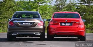 bmw 3 series or mercedes c class gallery w205 merc c class vs f30 bmw 3 series image 286255