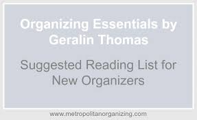 professional organizer training required reading geralin thomas