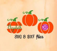free pumpkin svg pumpkin monogram svg pumpkin svg halloween cut file split