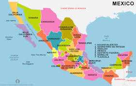 mexico on map mexico sends troops to its southern border center for