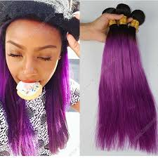 purple hair extensions color human hair 3bundles peruvian hair 1b purple ombre