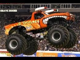 youtube monster trucks jam monster jam el toro loco monster truck freestyle youtube