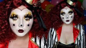 halloween mask costume clown mask halloween costume makeup tutorial youtube