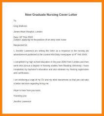 8 graduate nurse cover letter incidental report