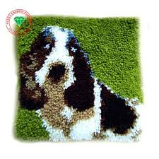 aliexpress com buy lovely dog latch hook rug kits diy needlework