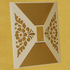 Indian Wedding Cards In India Saifee Wedding Cards Laser Design At Rs 70 Each Mumbai Id