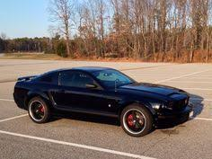 Red Mustang Black Wheels Painted Engine Covers Red And Black To Match My Wheels And Brake