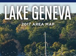 map of lake geneva wi visitors magazine and area map visit lake geneva