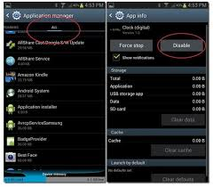 disable app android how to disable android apps noypigeeks