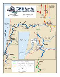 Oregon Time Zone Map by Coos Bay Rail Line U2014 Port Of Coos Bay Oregon U0027s Seaport