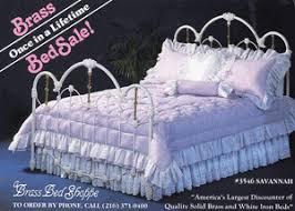 a brass bed shoppe