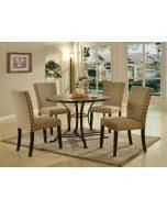 black round dining table set acme 71920 set oldlake 5pcs antique l oak black dining table set
