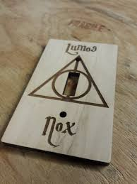lumos nox light switch cover harry potter light switch cover