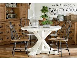 used dining room furniture childers round dining table magnolia home